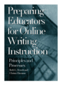Picture of the book cover of Preparing Educators for Online Writing Instruction.