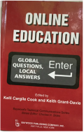 Picture of the book cover of Online Education: Global Questions, Local Answers.